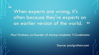When experts are wrong-graham-quote