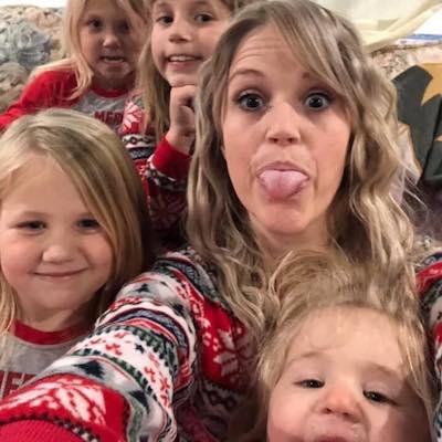 Heidi and her girls!